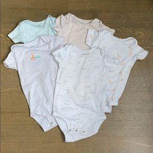 Carters OshKosh bodysuits, size 24 months